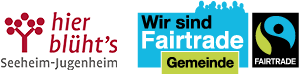 Logo Fairtrade Gemeinde Seeheim-Jugenheim